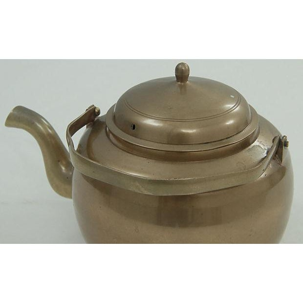 Brass Kettle and Warming Plate - Image 4 of 7