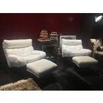 Image of Tito Agnoli Poltrona Frau Chair & Ottoman