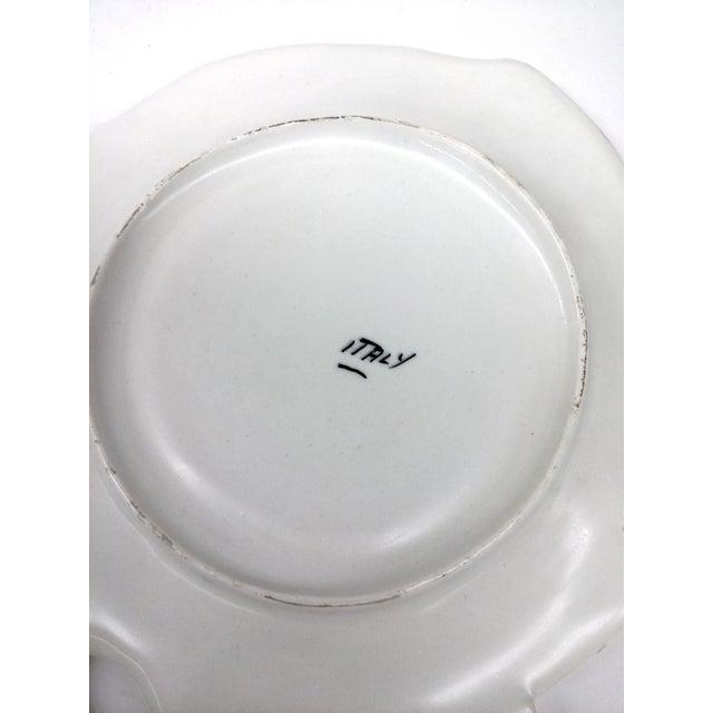 Mid-Century Pink & White Trinket Dish - Image 7 of 9