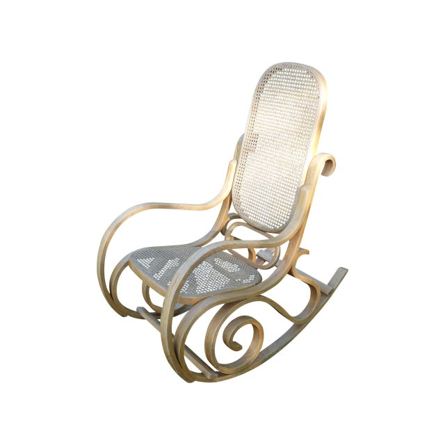 Bentwood Thonet Style Rocking Chair - Image 1 of 5