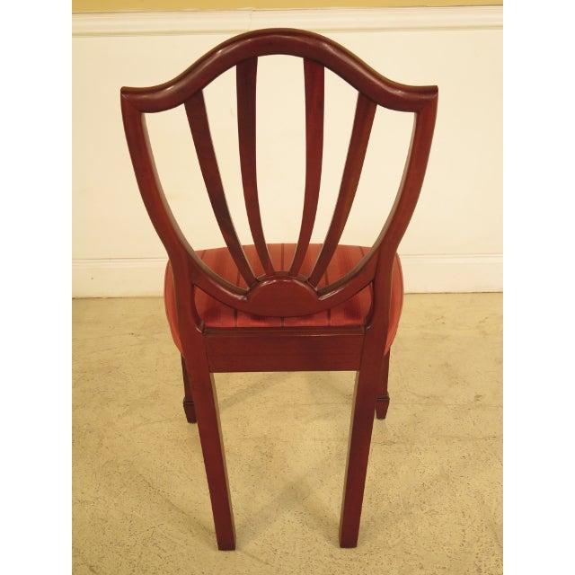 Baker Historic Mahogany Dining Chairs Set Of 10 Chairish