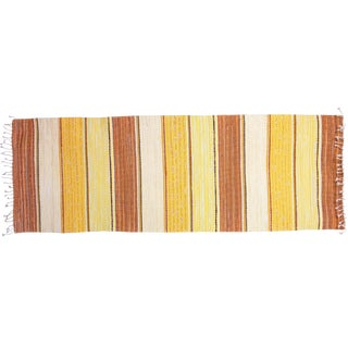 "Swedish Handwoven Rug - 7'2"" X 2'6"""