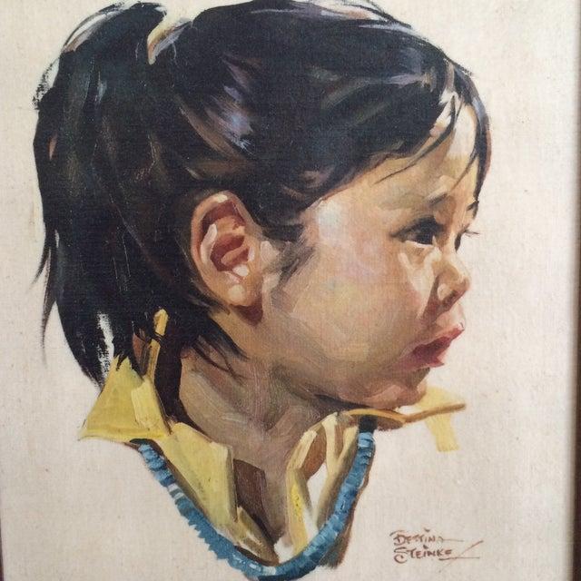 Bettina Steinke Portrait Painting - Image 3 of 5