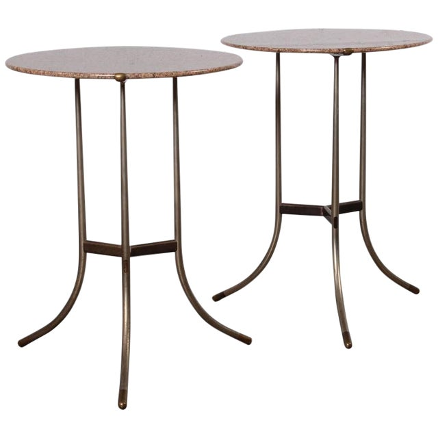 Pair of Side Tables by Cedric Hartman - Image 1 of 10