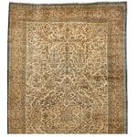 Image of Antique Oversize Lavar Kerman Carpet