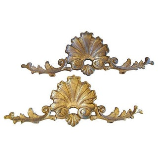 Ormolu Architectural Embellishments - A Pair