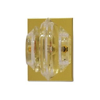 1970s Lucite Ribbon Wall Sconce