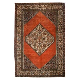 Early 20th Century Herati Carpet