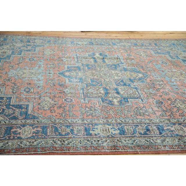 "Mid-Century Distressed Oushak Rug - 8'2"" X 10' - Image 4 of 10"