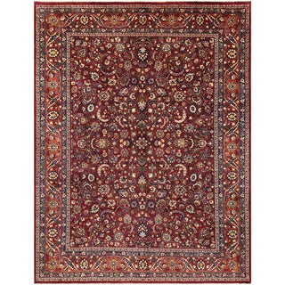 Persian Rug Alex Red/Rust Wool Rug - 10'0 X 12'10