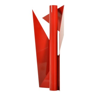 'Alas 2' Steel Geometric Sculpture