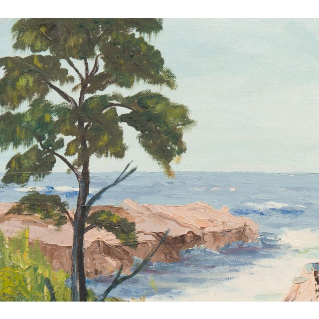 California Seascape by Evelyn Meck, 1975 - Image 4 of 6
