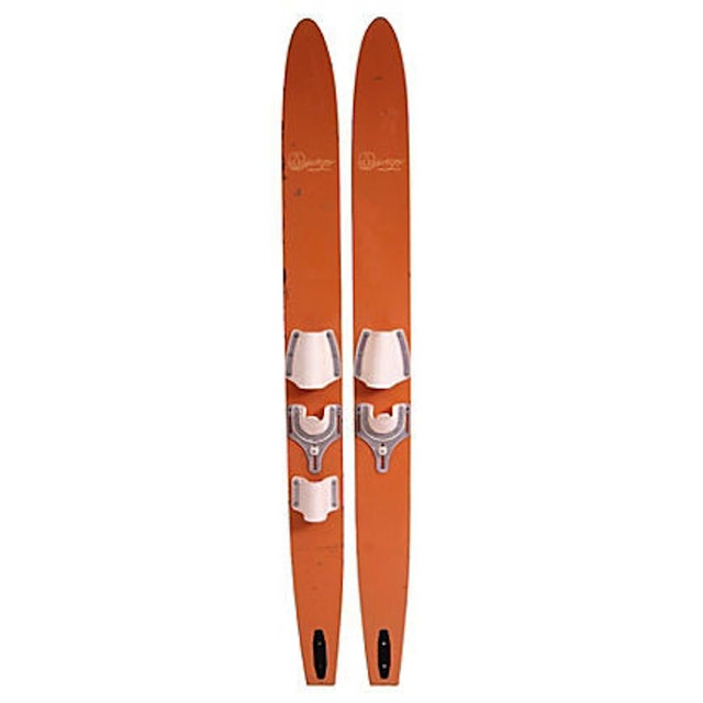 Oswego Water Skis - Pair - Image 1 of 3