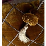 Image of Chic Velvet & Passementerie Throw Pillows - A Pair