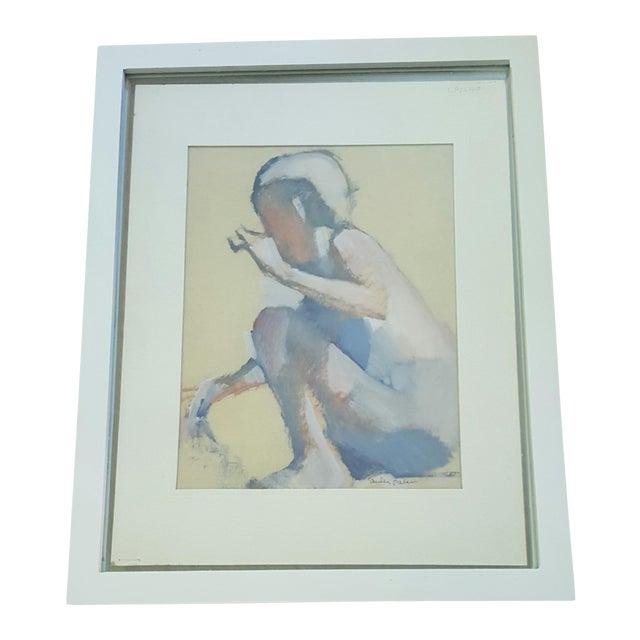 Vintage Original Impressionist Figure Painting - Image 1 of 5