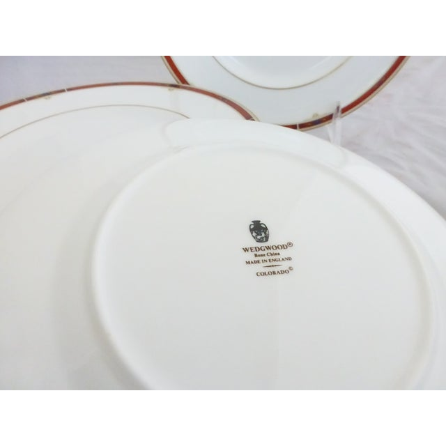"Image of Wedgwood ""Colorado Gold"" Salad Plates - Set of 6"