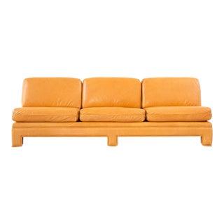 Milo Baughman Armless Sofa