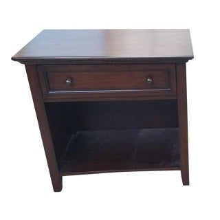 Pottery Barn Hudson Bedside Table