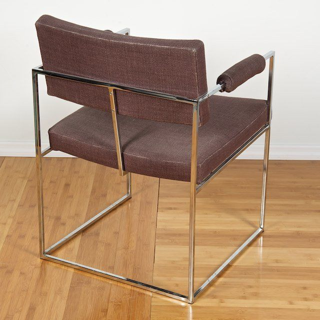 Milo Baughman Dining Chairs - Set of 6 - Image 3 of 7