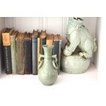 Image of Vintage Asian Glazed Vase/Pot