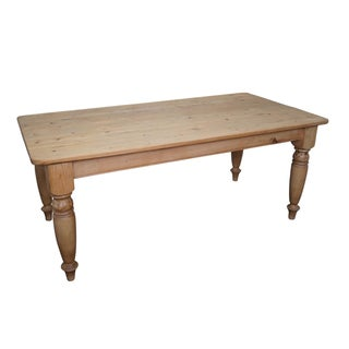 Restoration Hardware English Pine Farmhouse Dining Table