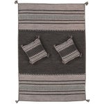 "Image of Pasargad Rustic Santa Fe Collection Rug- 5'2""x7'6"""