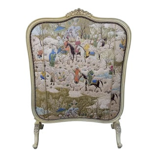 Antique French Fire Screen