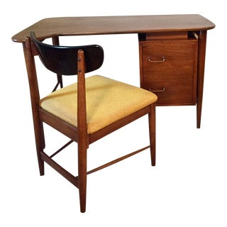 American of Martinsville Desk & Chair - A Pair