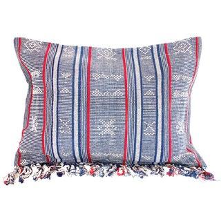 Sumba Indigo Ikat Pillow Cover