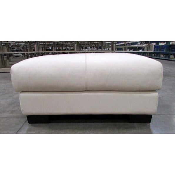 Image of Roche Bobois Leather Ottoman