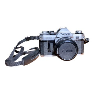 Vintage Canon Ae-1 Film Camera