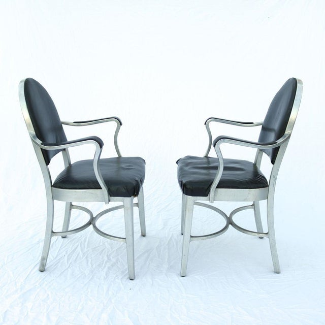 General Fireproofing Co. Cruise Ship Chairs - Pair - Image 4 of 10