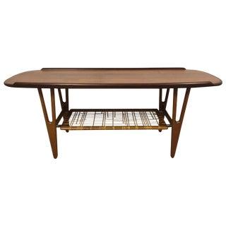 Danish Teak and Oak Coffee Table