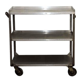 Three Tier Steel Rolling Cart