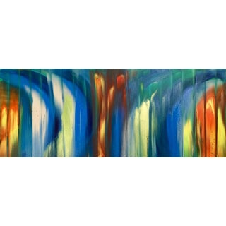 """""""Color Flame"""" Painting"""
