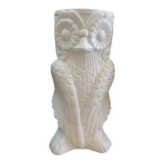 Ceramic Owl Umbrella Stand