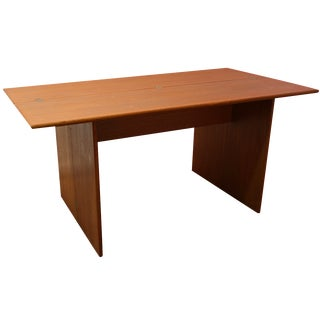 Mid Century Danish Teak Flip Top Dining Table