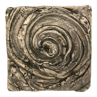 Corinne D Peterson Ceramic Whirlwind Tile