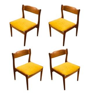 Danish Modern Teak Dining Chairs - 4