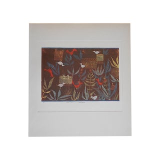 Vintage MCM Klee Abstract Lithograph