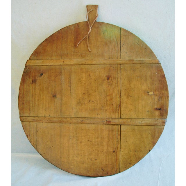 1920s French Harvest Cheese Board - Image 4 of 10