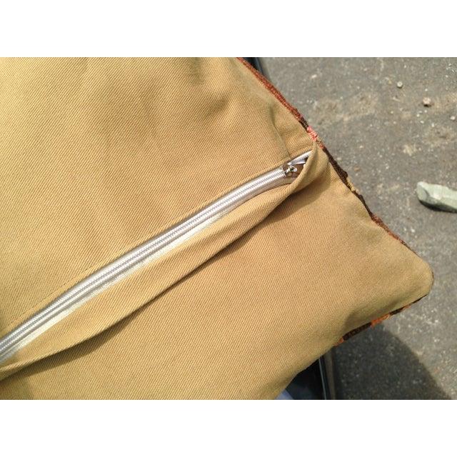 "Decorative Anatolian Kilim Pillow - 20""x 20"" - Image 5 of 6"