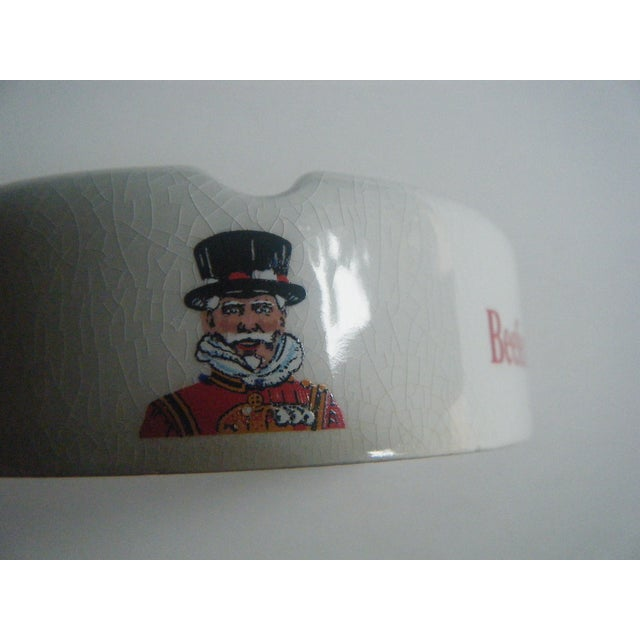 Image of Vintage Beefeater Gin English Ashtray