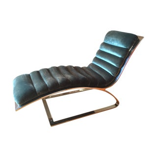 Chaise in Style of Milo Baughman