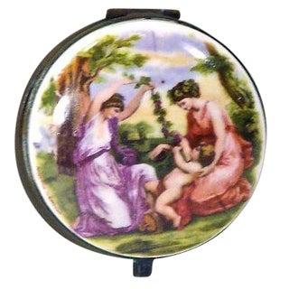 Angelica Kaufmann Porcelain Classical Lidded Box