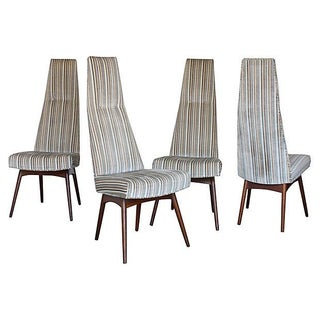 Adrian Pearsall High-Back Dining Chairs - Set of 4
