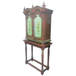 Hand Painted Russian Style Cabinet