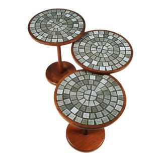 Gordon Martz Tile Top Occasional Tables - Set of 3
