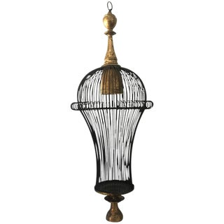 Cage Style Modern Chandelier