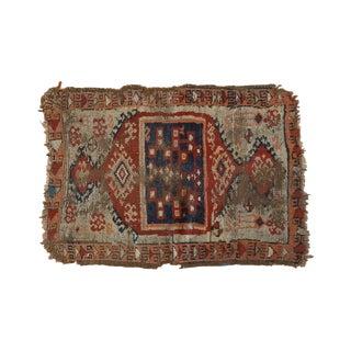 "Antique Anatolian Rug Mat - 1'10"" x 2'8"""